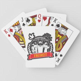 ANTI-GLOBALISIERUNG FREIHEIT/FREEDOM - DEUTSCHLAND PLAYING CARDS