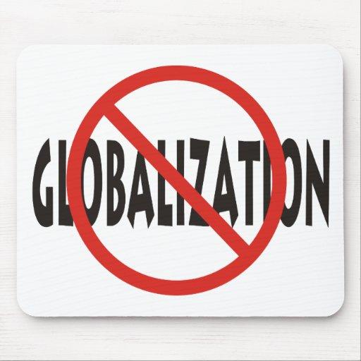 Anti-Globalización Alfombrillas De Ratones