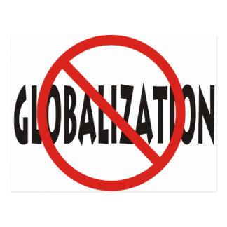 Anti-Globalization Postcard