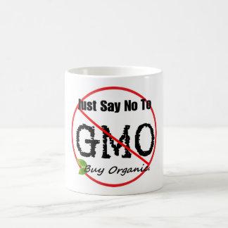 Anti GMO coffee morph mug