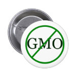 Anti-GMO Gentically Modified Food Button