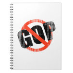 ANTI GOP Faded.png Spiral Notebooks