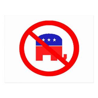 Anti-GOP Postcard