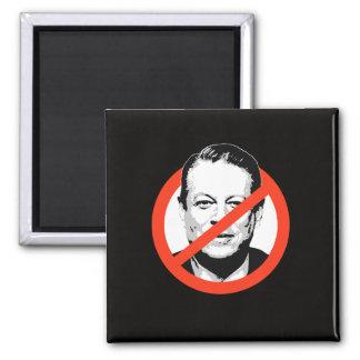 Anti-Gore - Anti-Al Gore 2 Inch Square Magnet