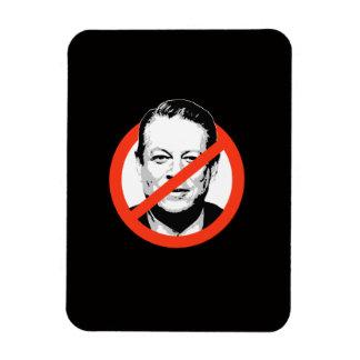 Anti-Gore - Anti-Al Gore Rectangular Photo Magnet