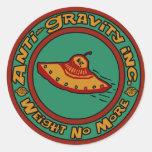 Anti-Gravity, Inc. Etiquetas Redondas