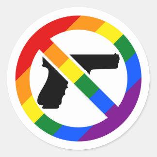Anti-Gun Anti-NRA LGBT Pride Sticker