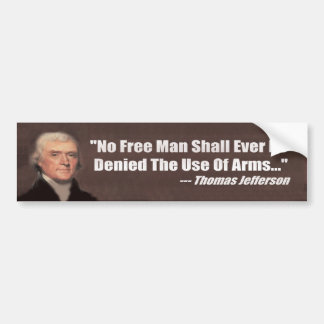Anti Gun Control - Gun Rights Bumper Sticker