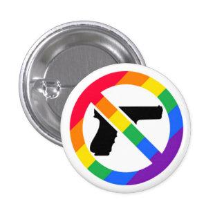 Anti-Gun LGBT Rainbow Pin