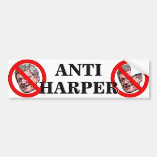 Anti-Harper Bumper Sticker