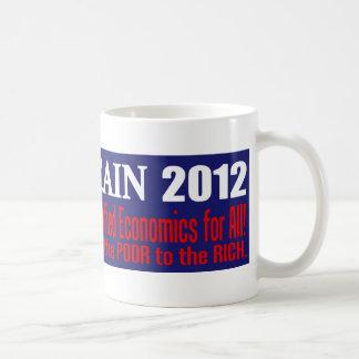 Anti Herman Cain 2012 President 999 PLAN Design Coffee Mugs