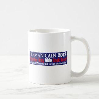 Anti Herman Cain 2012 President ABLE Design Coffee Mug