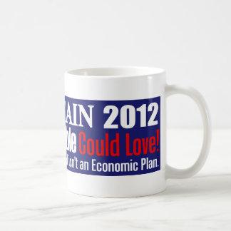 Anti Herman Cain 2012 President ABLE Design Classic White Coffee Mug