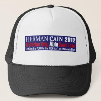 Anti Herman Cain 2012 President ABLE Design Trucker Hat