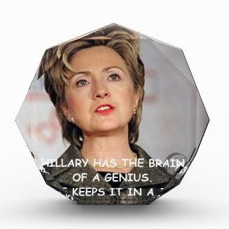 anti hilary clinton award
