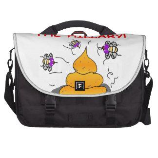 anti hilary clinton commuter bag