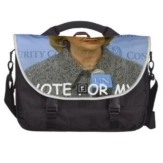 anti hilary clinton laptop bag