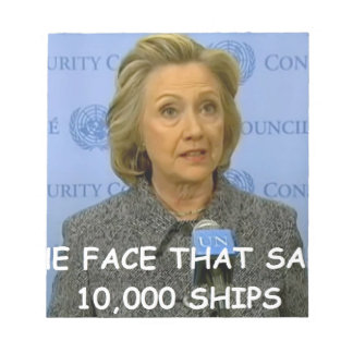 anti hilary clinton memo notepads