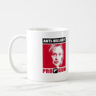 Anti-Hillary and Pro-Gun - - Anti-Hillary - Coffee Mug
