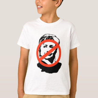 ANTI-HILLARY: Anti-Hillary Clinton Camisas