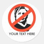 ANTI-HILLARY: Anti-Hillary Clinton Etiqueta