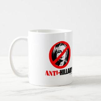 ANTI-HILLARY BOLDER - Anti Hillary png.png Coffee Mug