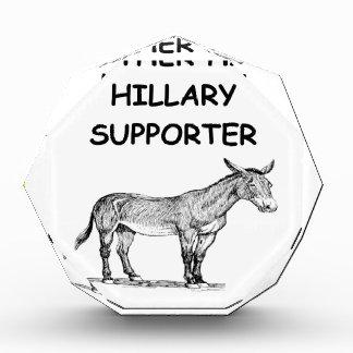 anti hillary clinton awards