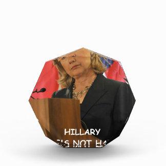 anti hillary clinton award