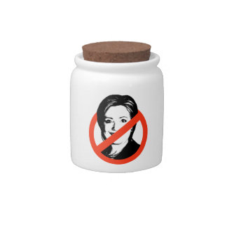 ANTI-HILLARY CLINTON - CANDY DISHES