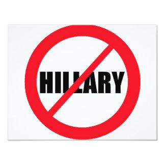 Anti-Hillary Clinton Card