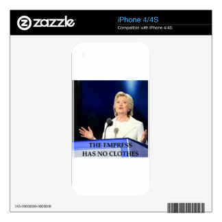 anti hillary clinton decals for the iPhone 4