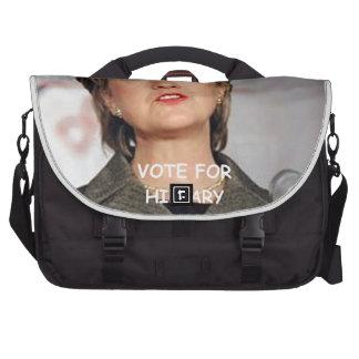 anti hillary clinton commuter bags