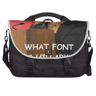 anti hillary clinton laptop computer bag