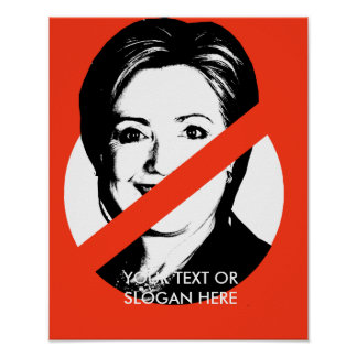 ANTI-HILLARY CLINTON POSTERS