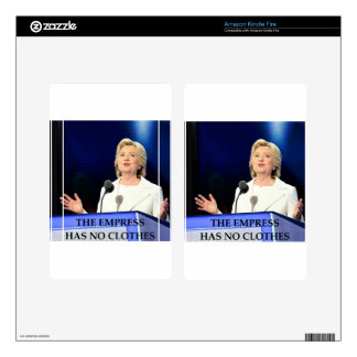 anti hillary clinton skins for kindle fire