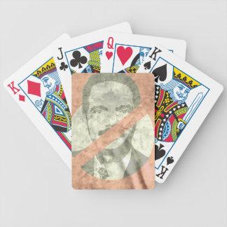 ANTI-HOLDER BICYCLE PLAYING CARDS