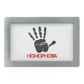 Anti Homophobia designs Belt Buckle