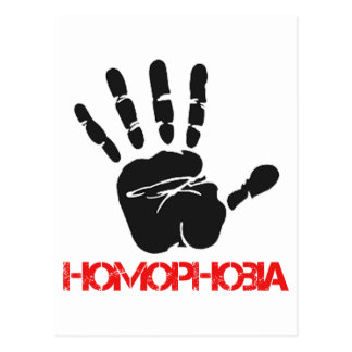 Anti Homophobia designs Postcard