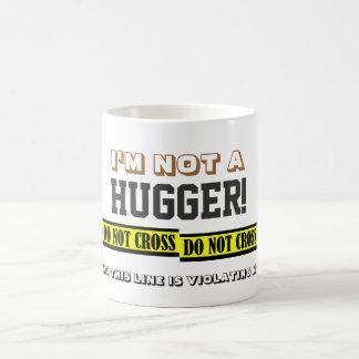 Anti-Hugs Coffee Mug