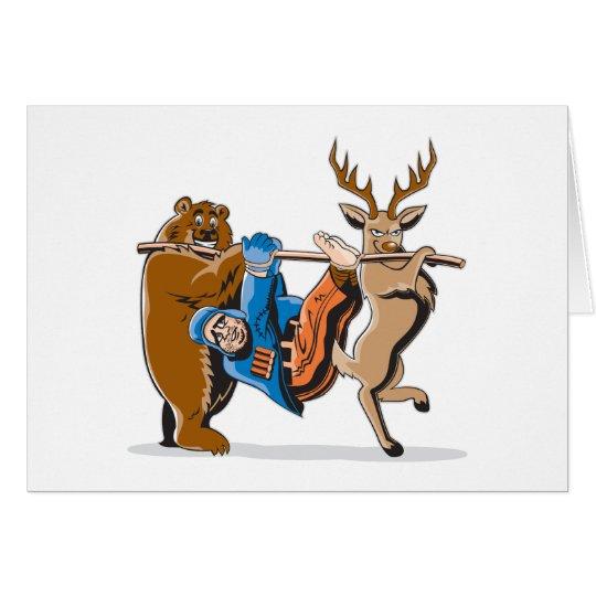 Anti Hunting Animal Revenge Card