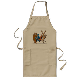 Anti Hunting Animal Revenge Long Apron