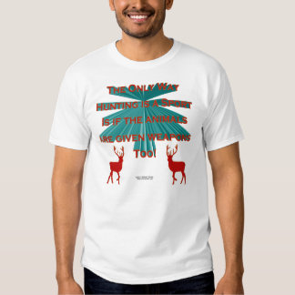 Anti-Hunting Men's Shirt