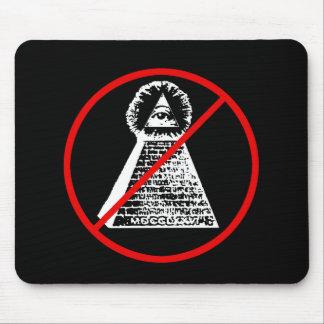 Anti Illuminati New World Order NWO Mousepad