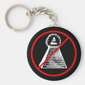 Anti Illuninati Keychain