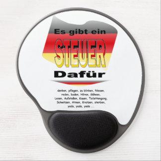Anti-Impuesto (Alemania) Alfombrillas De Raton Con Gel