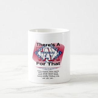 Anti-Impuesto (Arkansas) Taza Básica Blanca