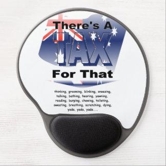Anti-Impuesto (Australia) Alfombrilla De Ratón Con Gel
