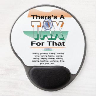 Anti-Impuesto (la India) Alfombrillas De Raton Con Gel