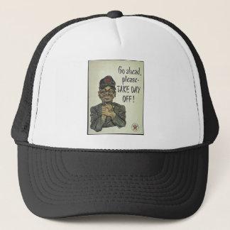 Anti Japanese Propaganda Take Day Off Trucker Hat