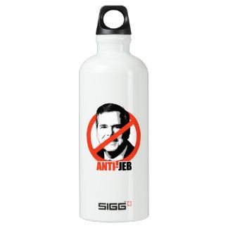 Anti-Jeb Aluminum Water Bottle